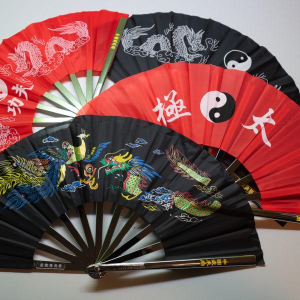 Premium Kung Fu Stahlfächer